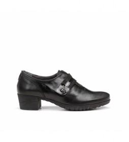 Zapatos de piel Charis 9804 negro -Altura tacón: 4 cm-