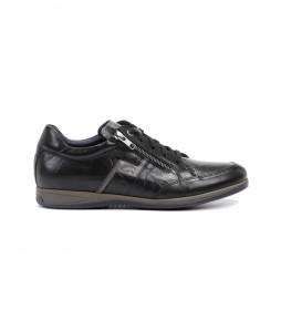 Zapatos de piel Daniel F0210 negro