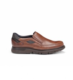 Zapatos de piel Celtic F0249 marrón