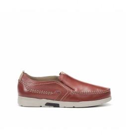 Zapatos de piel Choi F0440 terracota