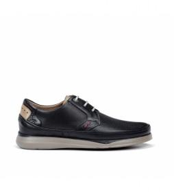Zapatos de piel Jone F0460 marino