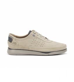 Zapatos de piel F0464 Cross Marmota