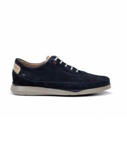 Zapatos de piel Jones F0464 marino