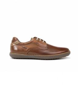 Zapatos de piel Timor F0474 marrón