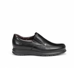 Zapatos de piel Zeta F0603 Soft negro