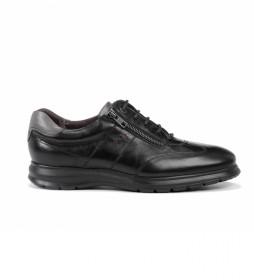 Zapatos de piel Zeta F0606 Soft negro