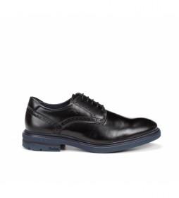Zapatos de piel Belgas  F0630 negro