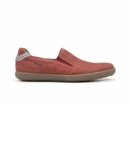 Zapatos de piel Timor F0716 terracota