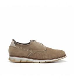 Zapatos de piel Kemp F0773 taupe