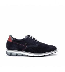 Zapatos de piel Kemp F0773 marino