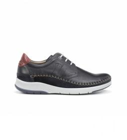 Zapatos de piel Maui F0795 marino