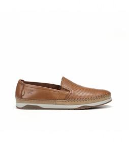 Zapatos de piel Kendal F0814 taupe