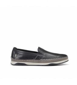 Zapatos de piel Kendal F0814 marino