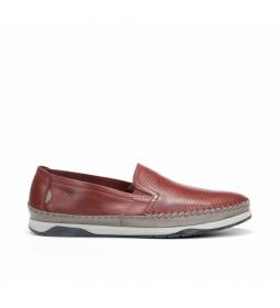 Zapatos de piel Kendal F0814 terracota
