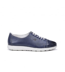 Zapatos de piel Nui F0854 Samun azul