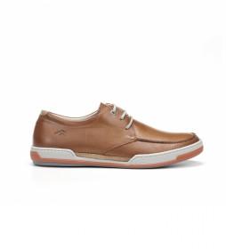 Zapatos de piel Chios F0885 marrón