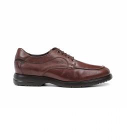 Zapatos de piel Falcon F0927 Cristal marrón