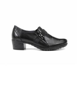 Zapatos de piel Charis F0942 negro -Altura tacón: 4 cm-