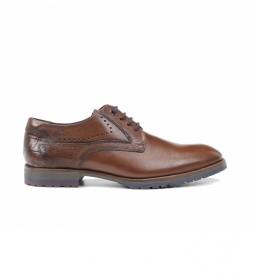 Zapatos de piel Ciclope F0958 camel