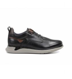 Zapatillas de piel Cooper F0966 negro