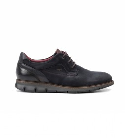 Zapatos de piel F0974 Kansas marino