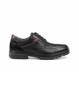Zapatos de piel Murray F1045 negro