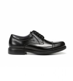 Zapatos de piel Waldo F1097 Premium negro