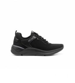 Zapatillas de Piel  F1253 activity negro