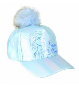 Gorra Premium Iridiscente Frozen 2 azul