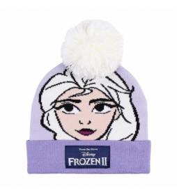 Gorro Frozen lila