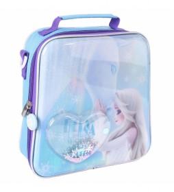 Neceser Comedor Confetti Frozen II azul -22x23x8cm-