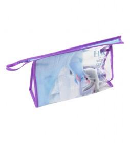 Neceser con set de aseo Frozen II azul -23x15x8cm-