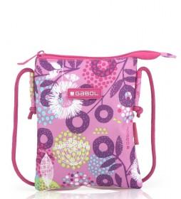 Bolso Linda rosa -15x19x0.5cm-