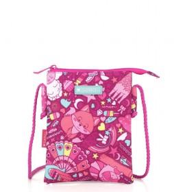 Bandolera Toy rosa -15x19x0.5cm-