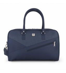 Bolso viaje Mailer azul 15x28x25cm