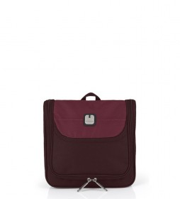 Neceser cosmética Bag Nordic burdeos -23x21x8cm-