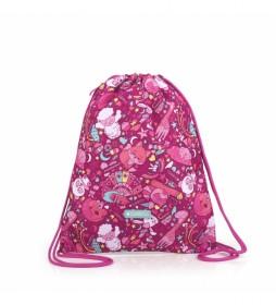 Mochila Toy rosa -34x44x0.5cm-