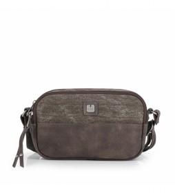 Bolso Kai marrón -21x13x7cm-