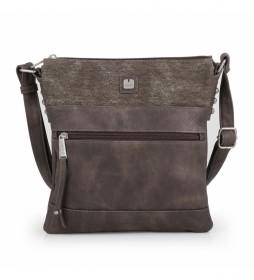 Bolso Kai marrón -25x27x2cm-