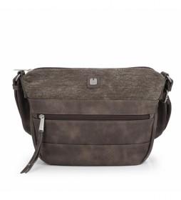 Bolso Kai marrón -25x20x9cm-