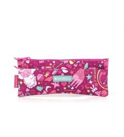 Estuche Toy rosa -22x9x0.5cm-