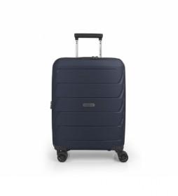 Maleta Cabina Sakura azul - 39x55x22cm