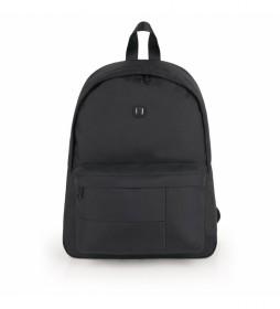 Mochila Kendo negro -31x40x14cm-