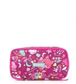 Porta alimentos térmico Toy rosa -21x5x11cm-