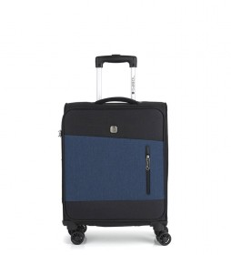 Trolley cabina Saga azul -39x55x20cm-