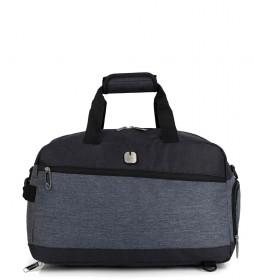 Bolsa de viaje Saga negro -47x28x25cm-