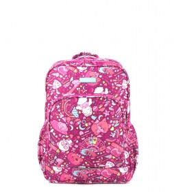 Mochila Toy rosa -32x44x15cm-