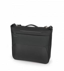 Portatrajes Zambia negro -55x105x16cm-
