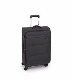 Trolley Mediano Board negro -43x68x26cm-