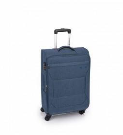 Trolley Mediano Board azul -43x68x26cm-